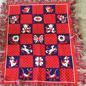Other - Red, White, Blue Baby Throw/Blanket